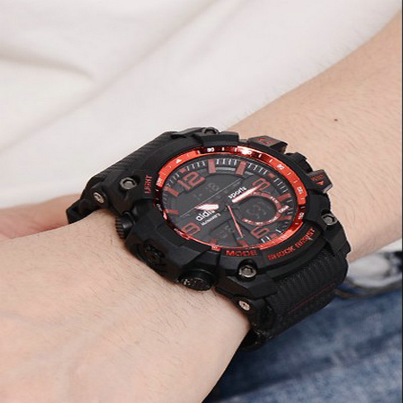 ФОТО Brand Hours Watch relojes Waterproof Outdoor Sports G Style Shock Watches Men Quartz  Digital Watch Military LED Wrist Watch