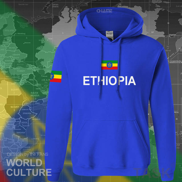 Ethiopia Ethiopian hoodies men sweatshirt sweat new hip hop streetwear clothing tops sporting tracksuit nation 2017 country ETH 2