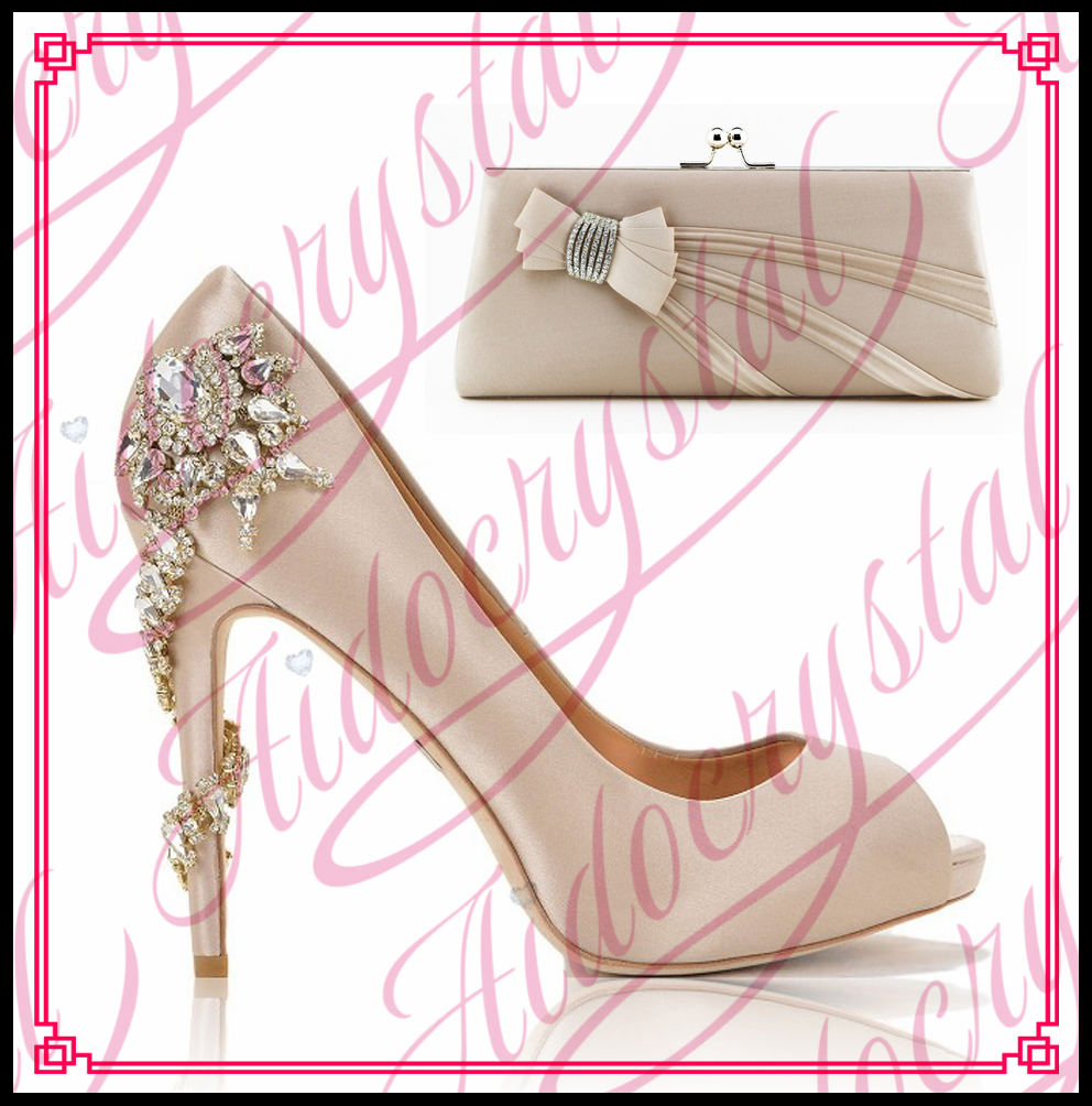 Aidocrystal lovely nude pink elegant peep toe heels italian matching shoes and bags set free shipping kamal chitkara pre clinical assessment of eptifibatide eluting stents
