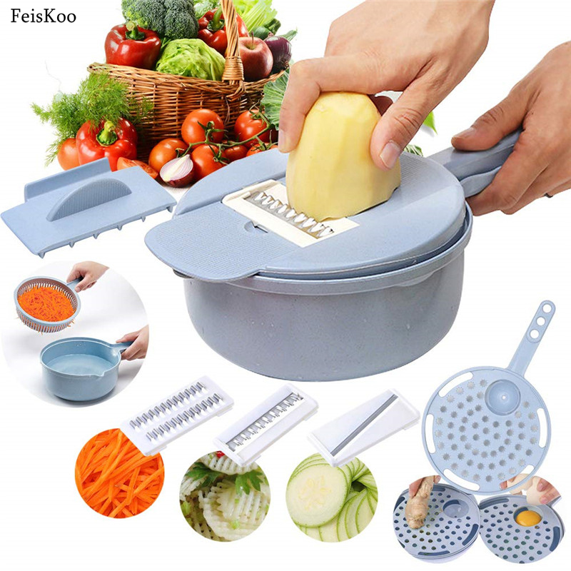 Mandoline Slicer Cutter Chopper And Grater Vegetable Potato Peeler Onion Kitchen Accessories