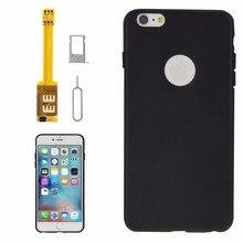 4 in 1 (Dual SIM Card Adapter + TPU Case