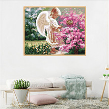 Dropshipping 5D Embroidery Paintings Rhinestone Pasted DIY Diamond Pai