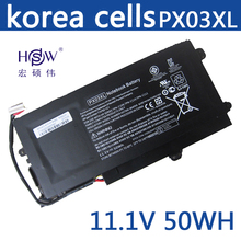 for laptop battery for HP Genuine original PX03XL 714762-2C1 714762-421 HSTNN-LB4P TPN-C109 TPN-C110 TPN-C111 цена 2017