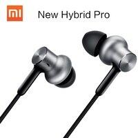 Genuína Xiaomi Híbrido Pro HD Mi Fone de Ouvido de 3.5mm no ouvido de Metal Fone de Ouvido de Alta Fidelidade fones de Ouvido Híbridos Celulares Earphons Microfone