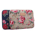 New For MacBook Air Pro 13 15'' Laptop Bag Case Apricot Peony Pattern Laptop Sleeve Notebook Ultrabook Carry Bag Cover Pouch