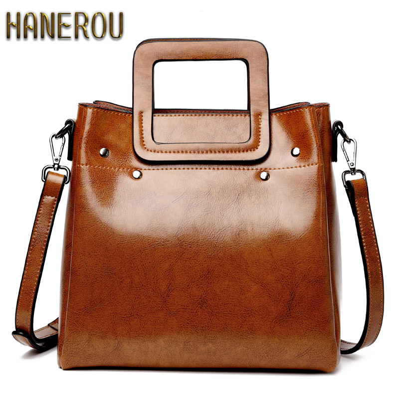 Genuine Leather Bag Famous Brands Women Messenger Bags Fashion Women Handbags Designer High Quality Women Bag Shoulder Bag Tote