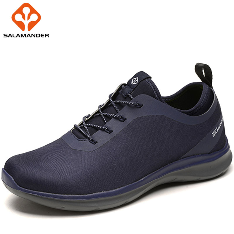 SALAMANDER New Mens Winter Running Shoes Outdoor Jogging Athletic Shoes Man Brand Super Light Sport Shoes For Men Men's Sneakers msstor retro women men running shoes man brand summer breathable mesh sport shoes for woman outdoor athletic womens sneakers 46
