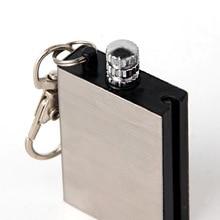 Portable Bottle Shaped Survival Tool Flint Fire Starter Matches Lighter Kit for Outdoor NO OIL 16G