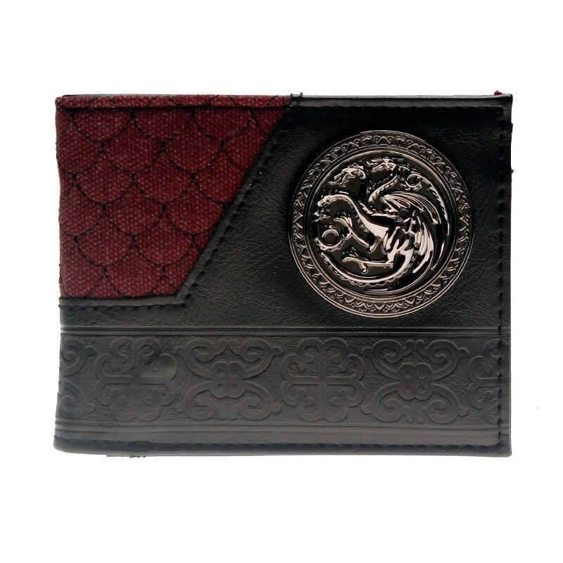100% Wahr Game Of Thrones Frauen Geldbörse Herren Geldbörse Dft-3113