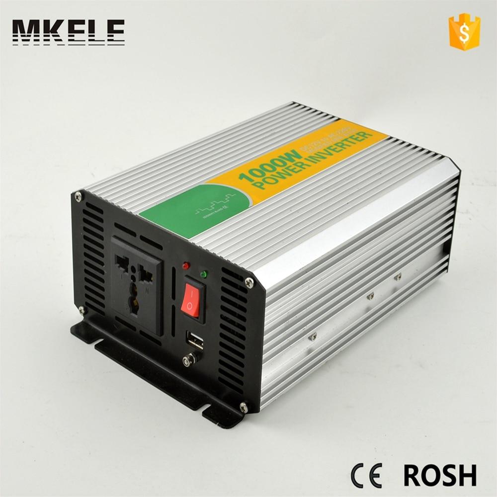 ФОТО MKM1000-242G ac frequency inverter converter 50hz 60hz 220v/230v off grid inverter 24vdc 1000w power inverter for household