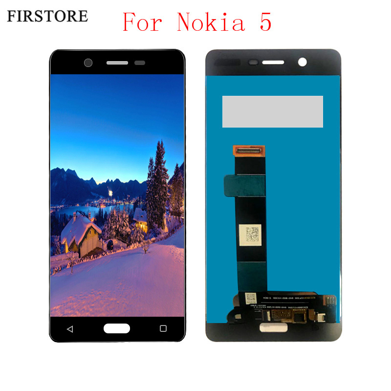 For Nokia 5 N5 TA-1027 TA-1044 TA-1008 TA-1030 TA-1053 LCD Display With Touch Screen Digitizer Sense Assembly Free ShippingFor Nokia 5 N5 TA-1027 TA-1044 TA-1008 TA-1030 TA-1053 LCD Display With Touch Screen Digitizer Sense Assembly Free Shipping
