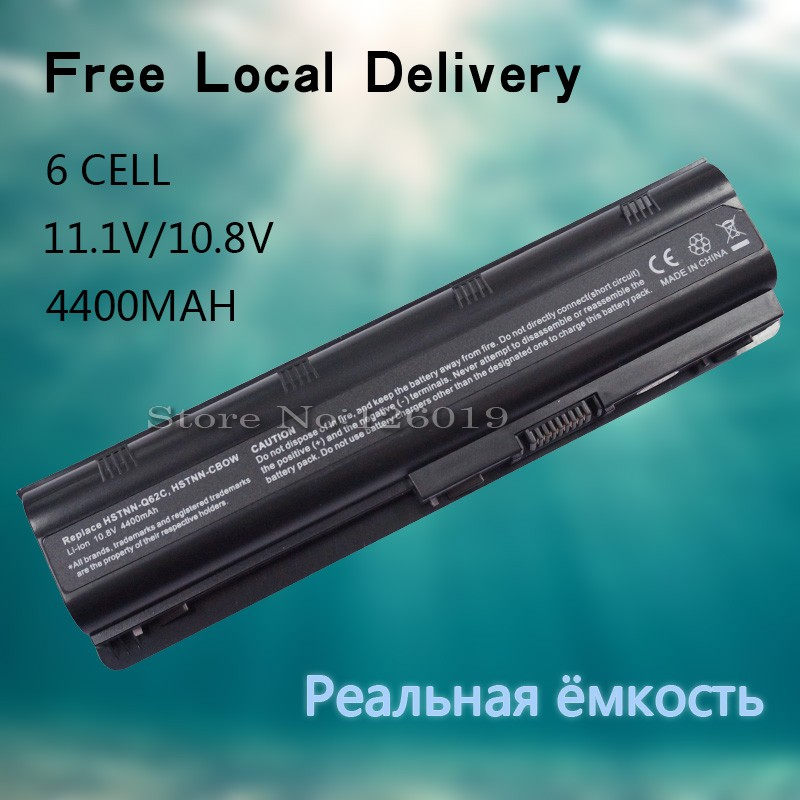 Laptop Battery for HP pavilion G6 DM4 G32 G42 G62 G56 G72 CQ32 CQ42 CQ43 CQ56 CQ62 CQ72 MU06 MU06XL MU09
