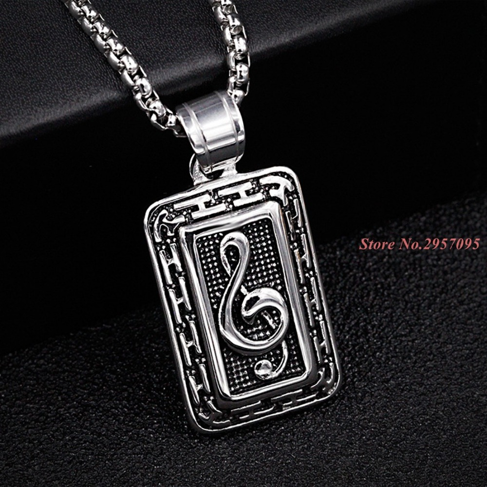 Cute music box pendant necklaces silvergold color stainless steel cute music box pendant necklaces silvergold color stainless steel collar for women jewelry with 60cm chain in pendants from jewelry accessories on aloadofball Image collections