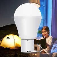 Luz Solar LED 15 W portátil Led carpa gancho bombilla Camping luz 5 V ~ 8 V carga energía Solar lámpara 250LM sin parpadeo iluminación exterior
