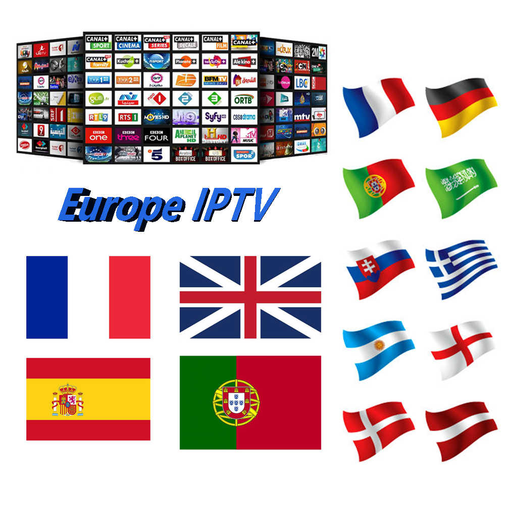 Germany IPTV M3U Subscription UK Italia Portugal French Spanish IPTV Account Code for Enigma2 Smart World TV Android tv box