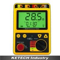 Ar4105a 휴대용 접지 저항 시험기 2ohm/20ohm/200ohm