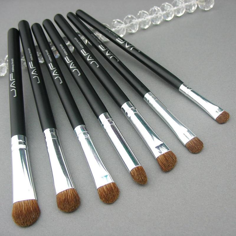 brochas de maquillaje de alta Cosmestic Eye Makeup Brushes 100% Natural Animal Horse Pony Hair material  Makeup Brush Set M03481 silla de director plegable de madera con bolsas para maquillaje pelicula studio hw46460