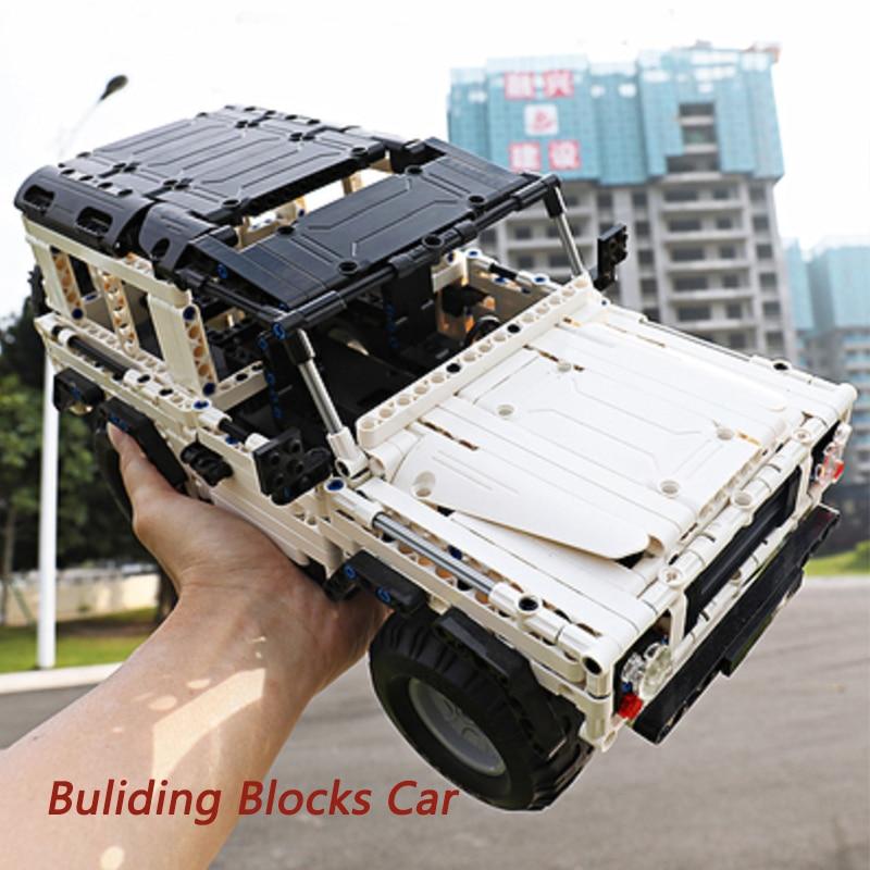 531PCS CaDA Buliding Car Blocks C51004 Model DIY RC Building Block Toy Car Gift