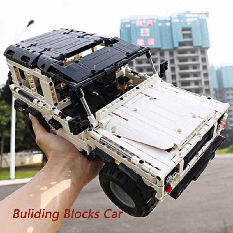 531 قطعة CaDA تنمية المهارات سيارة كتل C51004 نموذج DIY RC بناء الالعاب العملاقة سيارة هدية-في حواجز من الألعاب والهوايات على  مجموعة 1