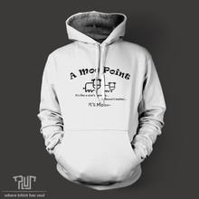 Friends Joey's moo point men unisex pullover hoodie hoody heavy hooded sweatshirt cotton with fleece inside Free Shipping
