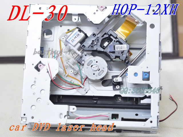 CAR audio system  DL-30   DVD laser head  HOP-12XH    12XH
