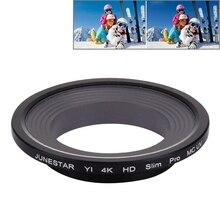 Многослойное оптическое стекло УФ-фильтр для Xiaomi Xiaoyi Yi II 4K Спортивная экшн-камера объектив профессиональный HD тонкий MCUV фильтр для объектива