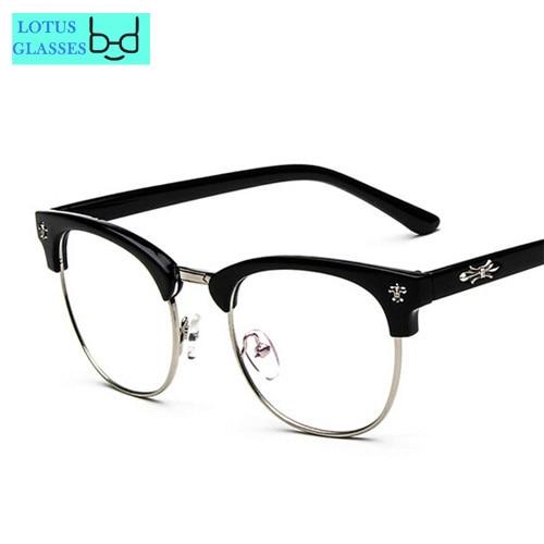 46f260b785 Rock and Roll vintage eyeglasses frames japanese designer brand women spectacle  frame monturas de gafas men optical glasses