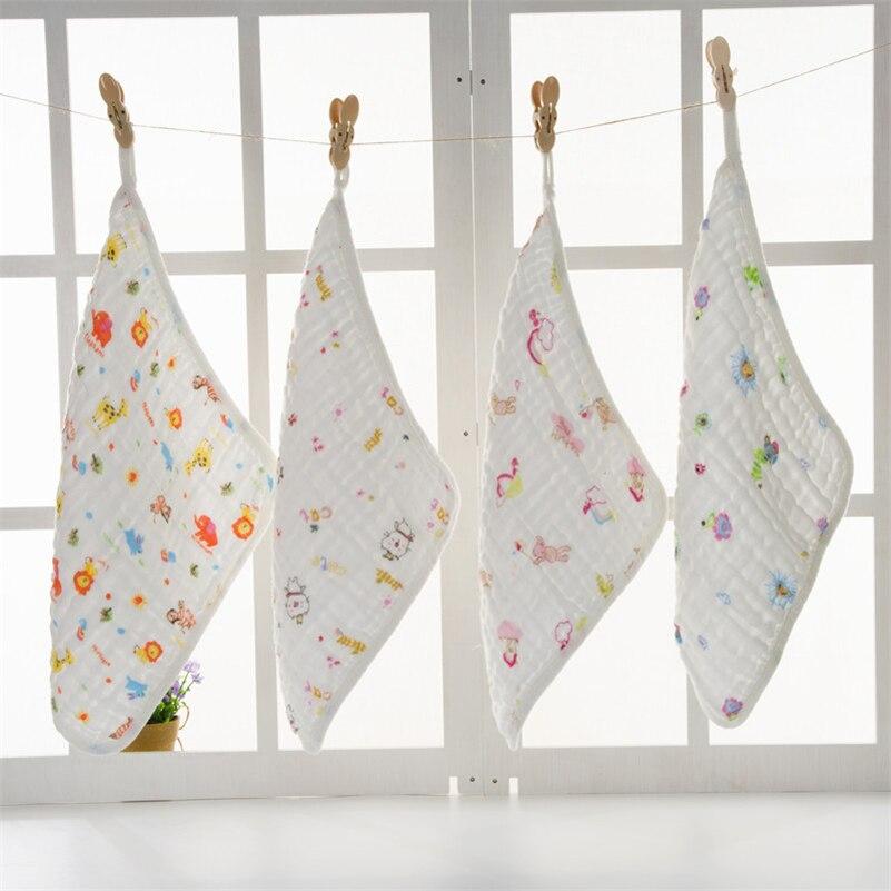 Wash Cloths As Burp Cloths: 2pcs/set Soft Cotton Gauze Burp Cloth Newborn Baby Saliva