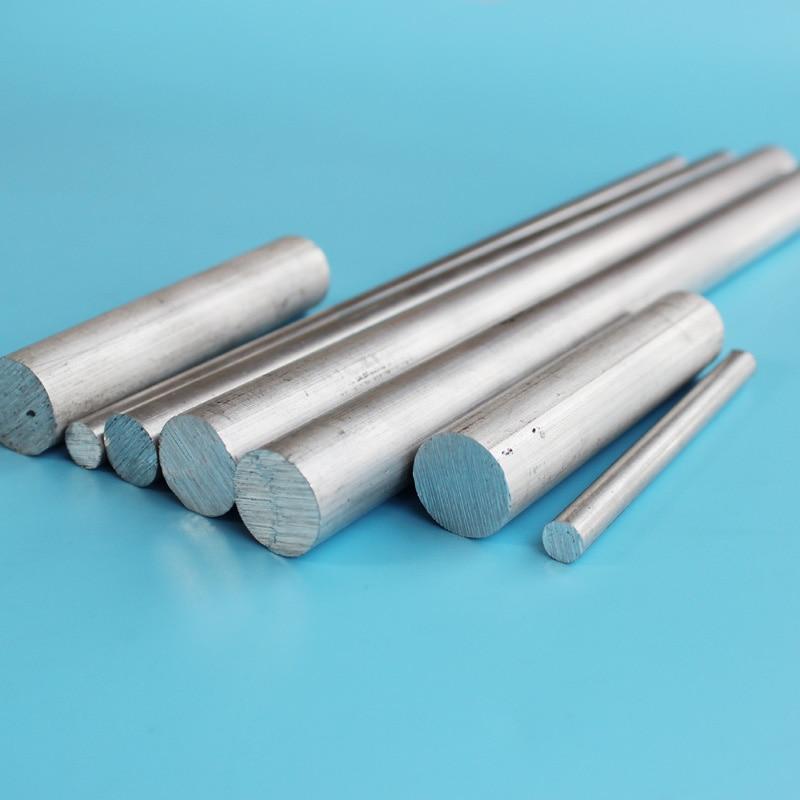 10pcs Φ10mm x 250mm ALUMINUM 6061 Round Rod D10mm Solid Lathe Bar Stock Cut Long