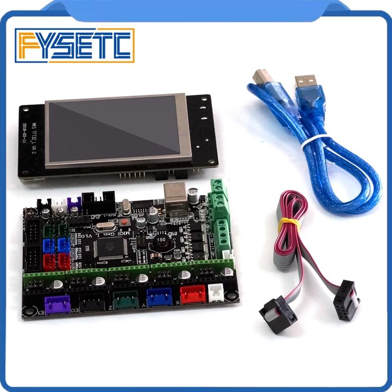 MKS Gen-L V1.0 Integrated Mainboard MKS Gen L v1.0 Compatible Ramps1.4/Mega2560 R3 +MKS TFT32 3.2'' Touch Screen