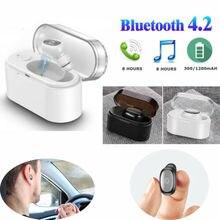 Mini Wireless Bluetooth 4.2 Stereo Sports Headset Earphone Handfree Earbuds
