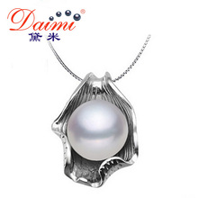 DAIMI 2015 Brand New Pearl Necklace Women Designer Classcial Silver Necklaces Pearl Jewelry for Summer