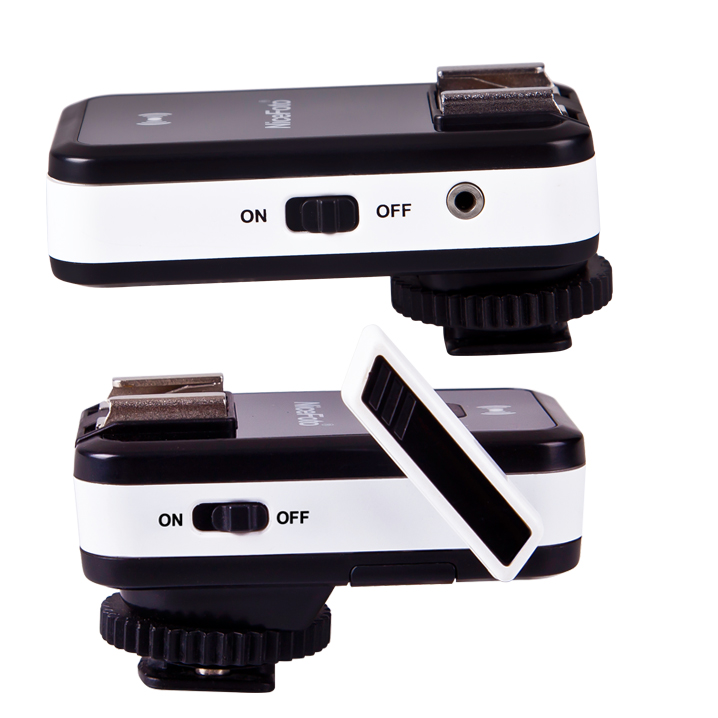 Joli CN-2.4G universel FSK2.4GHz télécommande sans fil Flash déclencheur Set-noir, équipement photographique sans fil Flash déclencheur