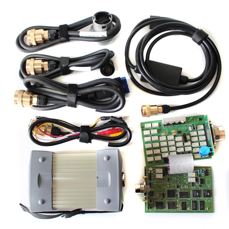 Melhor Qualidade para MB Estrela Multiplexer C3 Full Set Auto Ferramenta de Diagnóstico para Carros e Caminhões 3/2019 DAS Xentry WIS EPC HDD Software