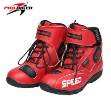 Free shipping PRO-BIKER motorcycle racing wear warm boots knight riding motorcycle protective boots shoes A007 38-45