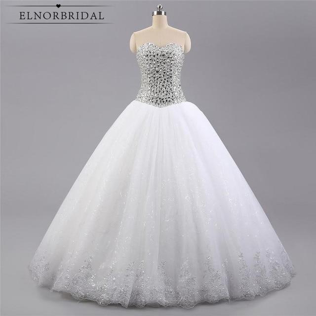 Vintage Ballkleid Brautkleider Plus Größe 2017 Kristall Perlen ...