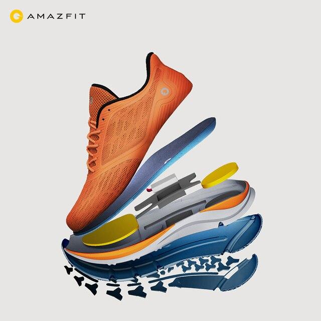 Xiaomi Mijia Amazfit Antelope Men's Running Shoes Outdoor  sneakers for men Smart sport shoes zapatillas hombre Chip APP Control 4
