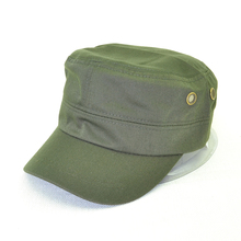 new men and women army cap simple plain color simple plain top caps military hat travel sun shade Military Hats недорого