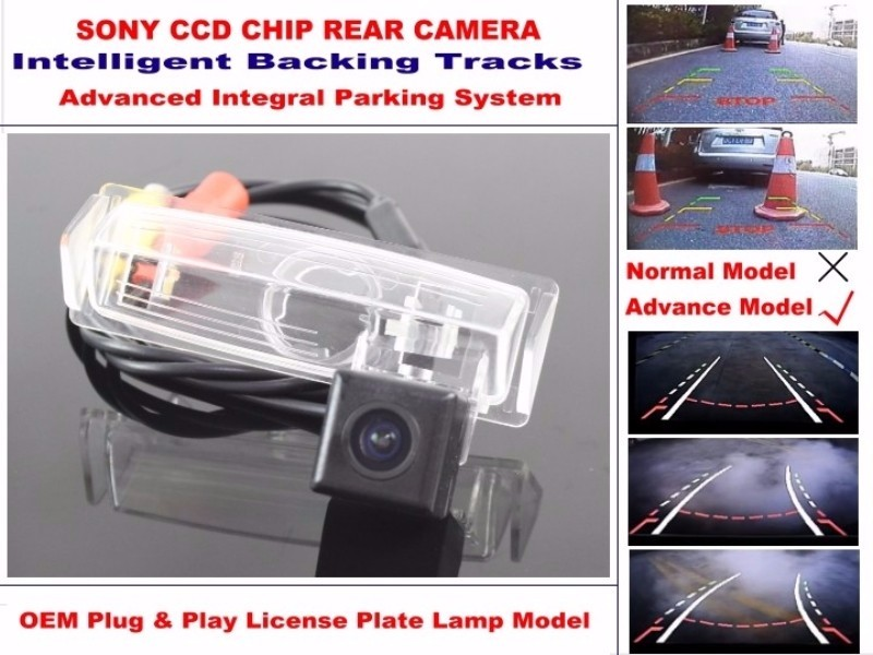 For TOYOTA Prius MK1 2000~2003 High Quality Intelligentized Car Parking Rear Reverse Camera NTSC PAL RCA SONY CCD 580 TV Lines