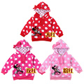 RetailNew 2014  classic cartoon version of the lovely girls coat/cotton jacket free shipping of the girls