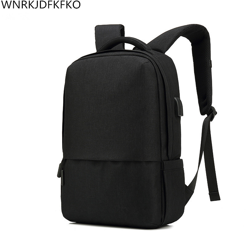 new hit color anti-theft travel backpack business multifunctional laptop backpack smart charging USB headset dual interface back ...