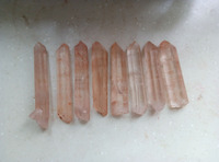 8pcs Natural Clear Lemurian Seed Quartz Cluster Crystal Point Specimen 281.4g
