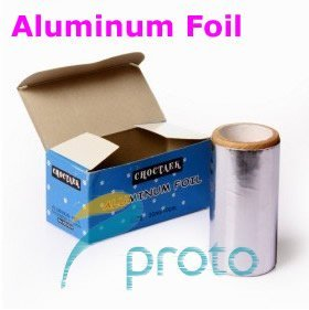 2x Aluminum Foil for Nail Remover UV Gel Nail Wraps Especial For Soak Off UV Gel Remove  SKU:F0093X