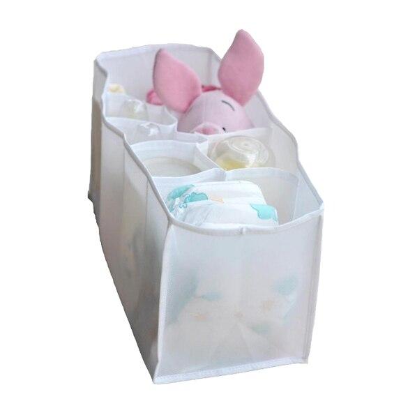 Лидер продаж Новый Портативный путешествия 7 вкладыши пеленки подгузник Организатор питания вставить мешок хранения