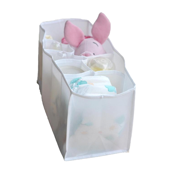 Hot Sale NEW Portable Travel 7 Liners Diaper Nappy Organizer Stuffs Insert Storage Bag