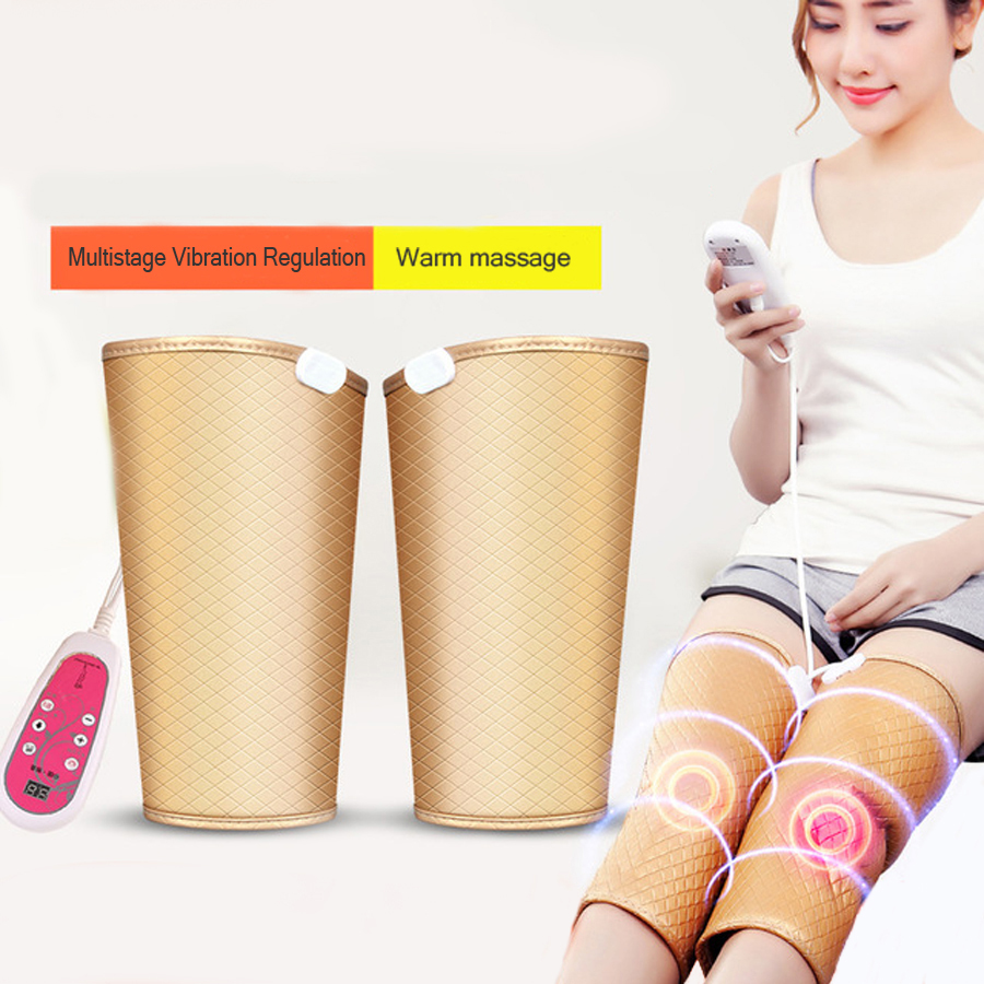 Electric Heating Kneepad Warm Vibration Heating Massager Elbow Joint Physiotherapy Massage Arthritis Pain Relief Health Care