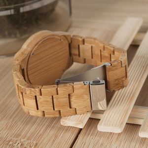 Image 2 - BOBO BIRD reloj de madera para hombre, reloj masculino, de marca superior, de madera, gran regalo, W D27