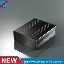 90*36-110mm(WxH-D) High grade 6063 T5 black anodized aluminum profile
