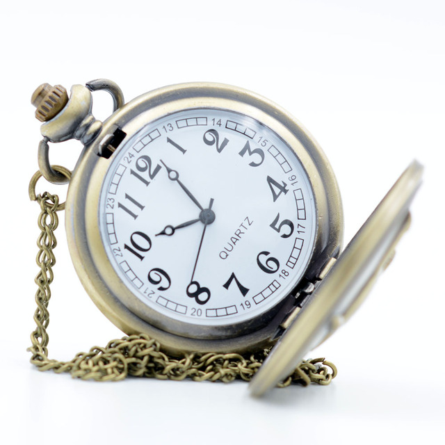 Pokemon Monsters Quartz Pocket Watch And Necklace