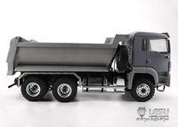 LESU 8*8 Front Hydraulic Dumper Truck Tipper 1/14 RC TAMIYA MAN Model Metal DIY